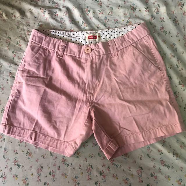 BENCH Pink Shorts