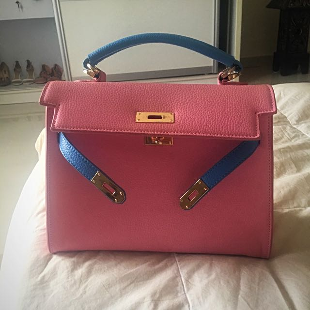 ... authentic bicolour hermes kelly inspired bag womens fashion bags  wallets on carousell 7a46c 0532c b511d15e367c9