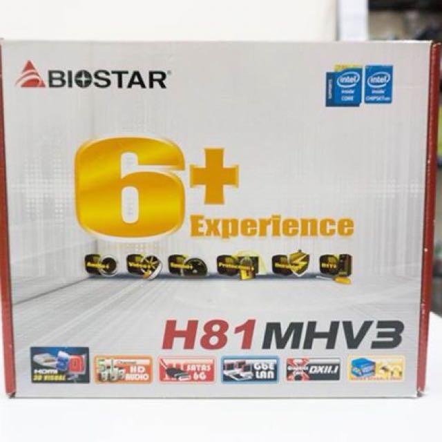 Biostar H81MHV3