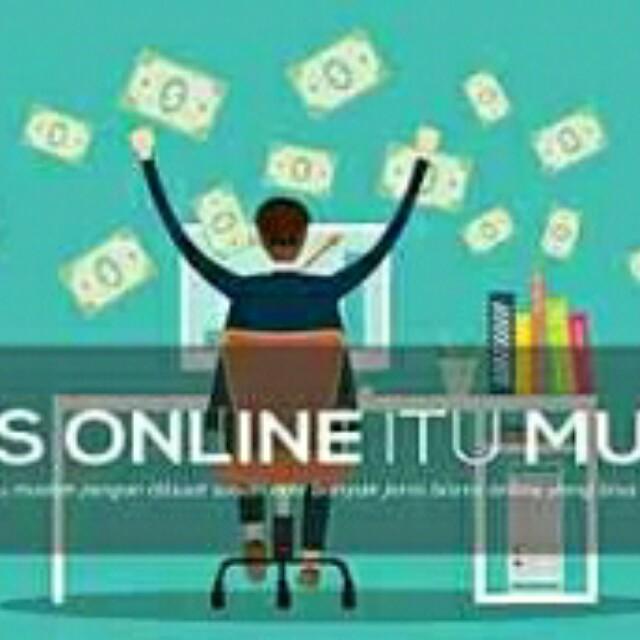 Bisnis online yg anti gagal n asli hasilnya