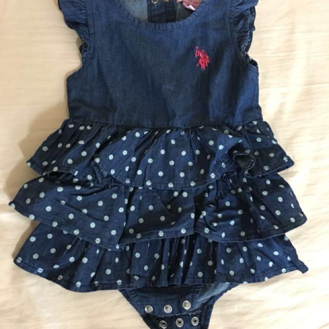 Bn Baby Girl Dress Us Polo Assn 12 Months Babies Kids Girl S
