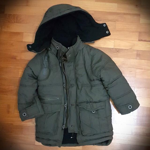 3804d4a68c2c BN ZARA Kids Boy s Winter Jacket Size 3-4y