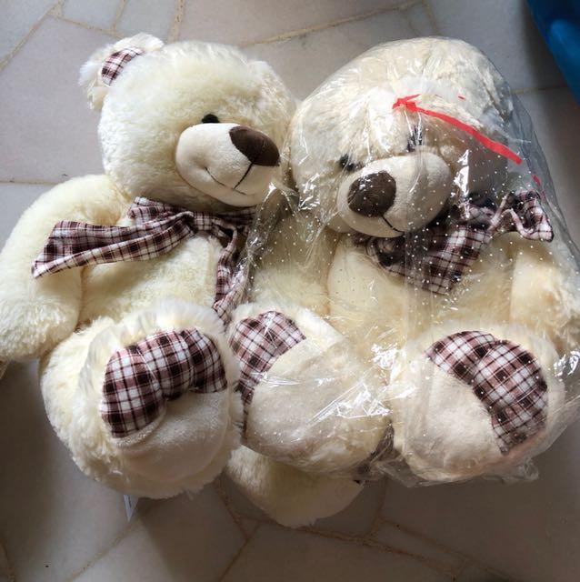 BNWT teddy bears! 2pcs