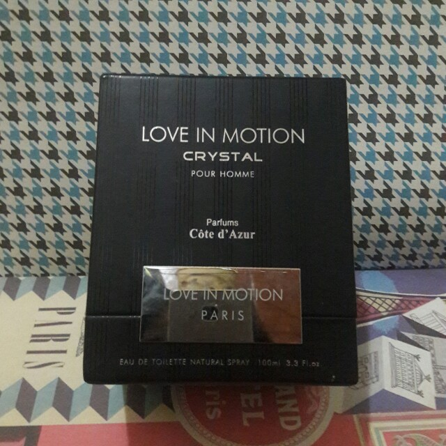 Box Parfum Love in Motion