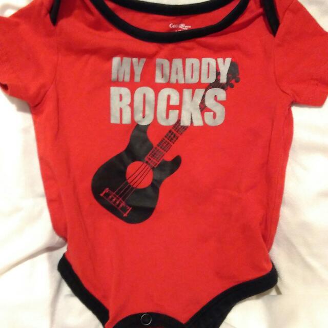 Brand: George Onesie, My Dad Rocks