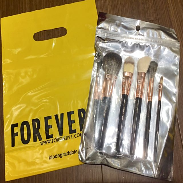Brand New Auth Forever 21 Cosmetic Brushes Set