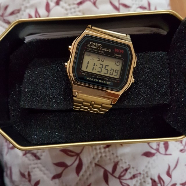 Brand New Casio watch still in the box (gold)