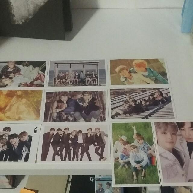 BTS Bangtan Boys kpop photocards