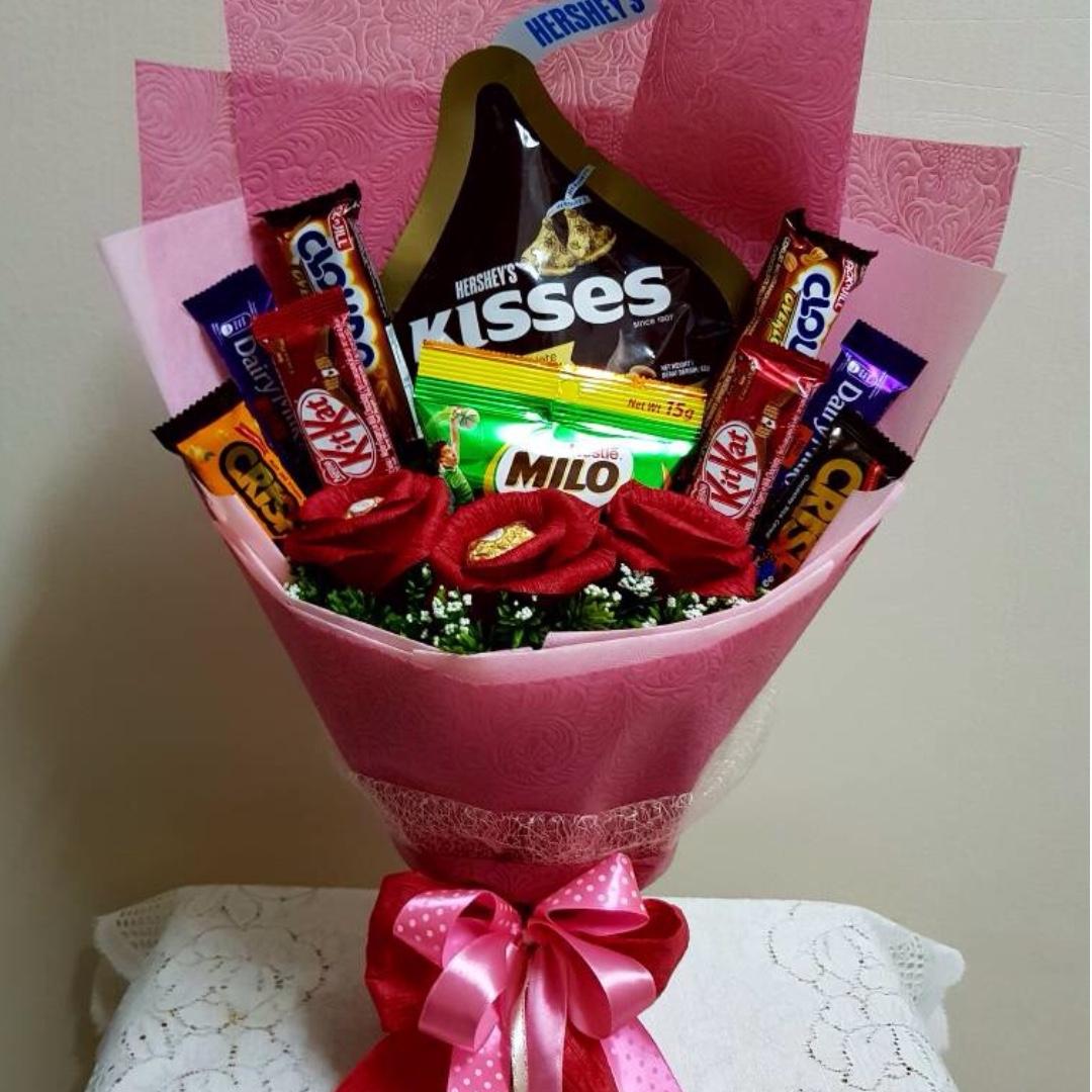 Gambar Bunga Dan Coklat Pickini