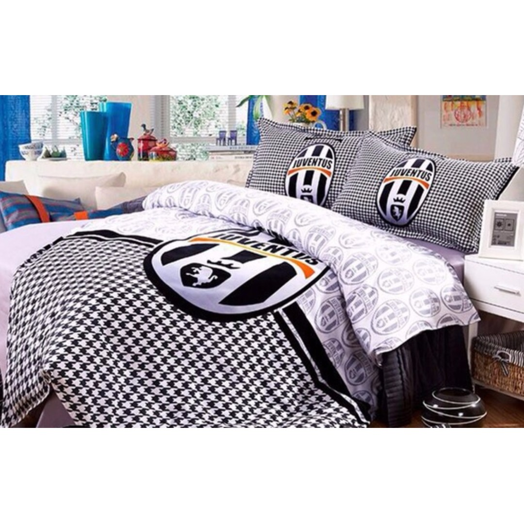 Cadar Bola Queen King Juventus Home Furniture Others On Carousell