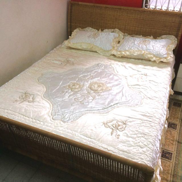 Cadar Pengantin / Queen Bed Sheet