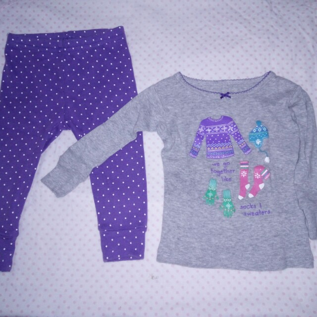 Carters Baby Sleepwear set