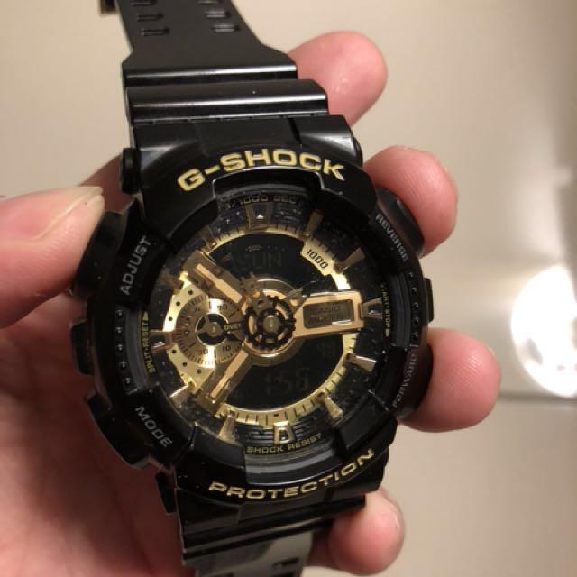 f6d648f3b9a Casio G-Shock Black Gold Original