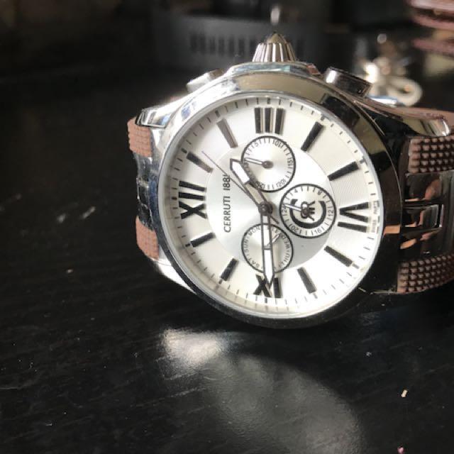 Cerruti 1881 Watch brand new without box