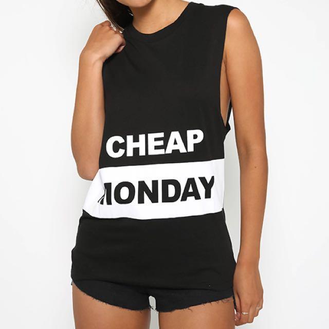 Cheap Monday Muscle tank