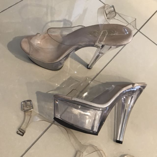 69985f52965 Competition Pole Dancing heels, Women's Fashion, Shoes on Carousell