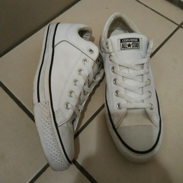 Converse Kondisi Like New Full Leather Size 41'5 Detail Wa