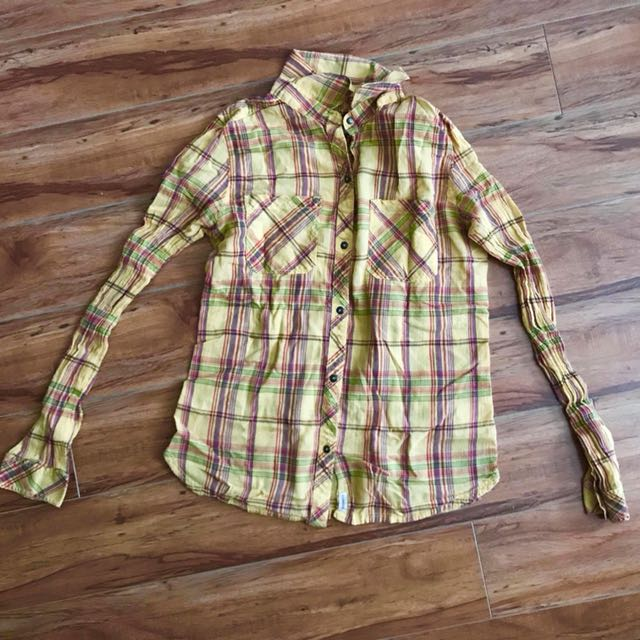 Converse plaid T shirt