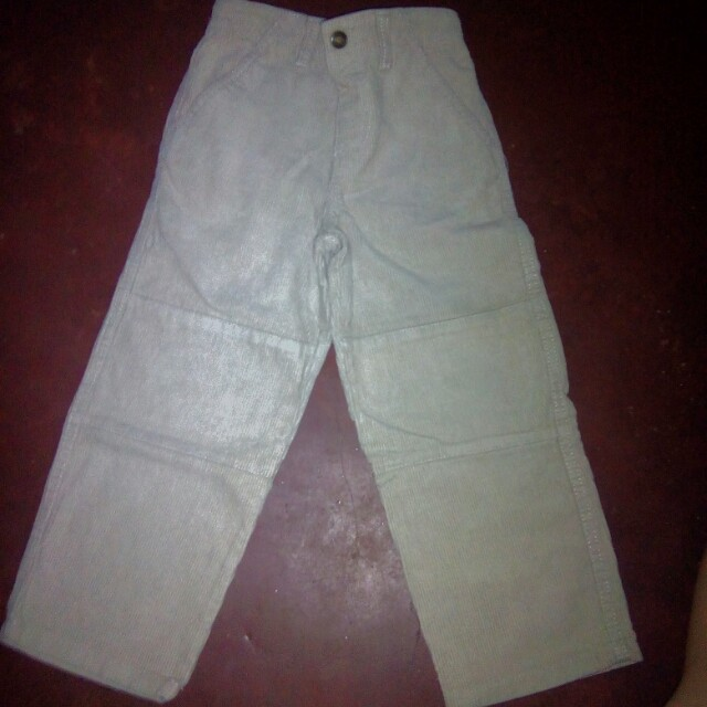 Curdoroy pants