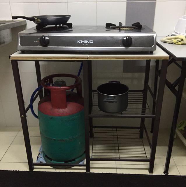 Dapur Gas Brand Khind Rak Peralatan Di Carou