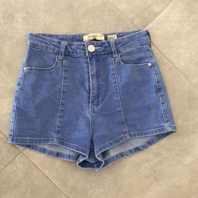 Deniem shorts