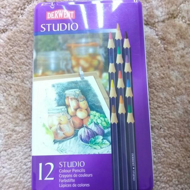 Derwent 12 pack pencils