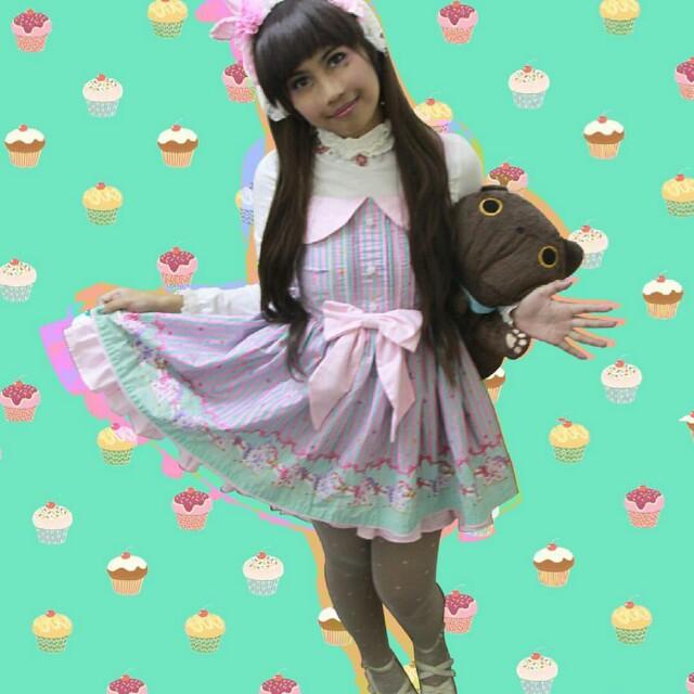 Dolly Kaye lolita pink dress