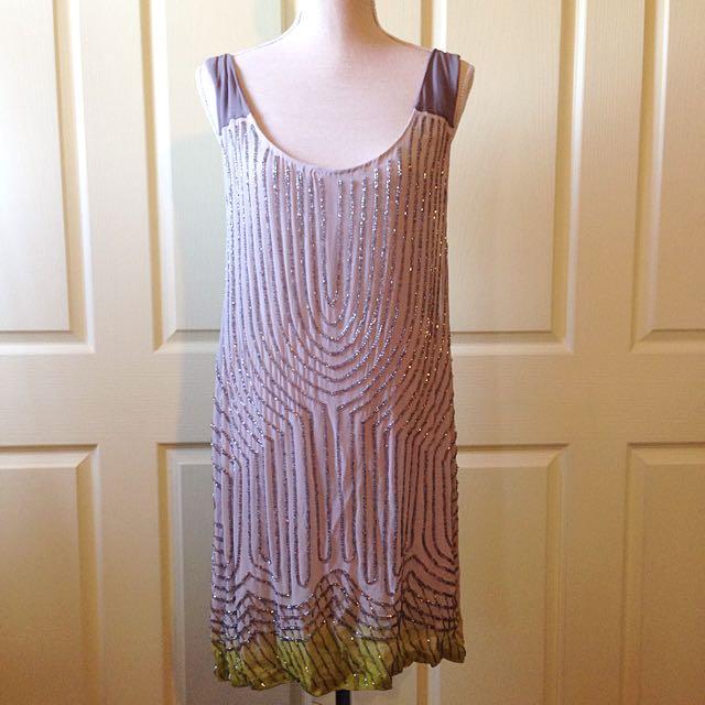 Embellished Beaded Dress Size 8-10