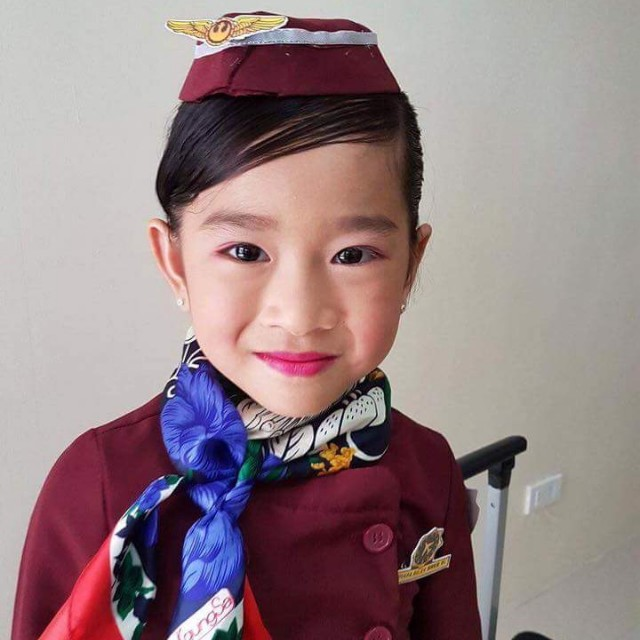 Flight Attendant Costume Babies Kids Girls Apparel On Carousell