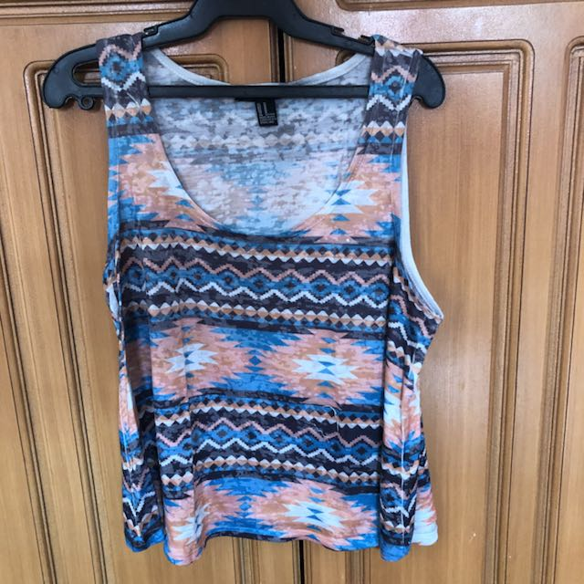 Forever 21 Aztec Top