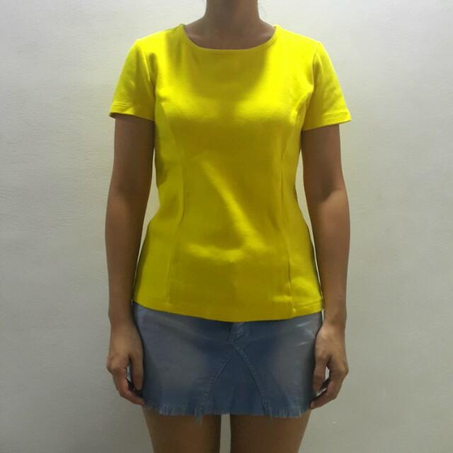 Forever 21 Yellow shirt