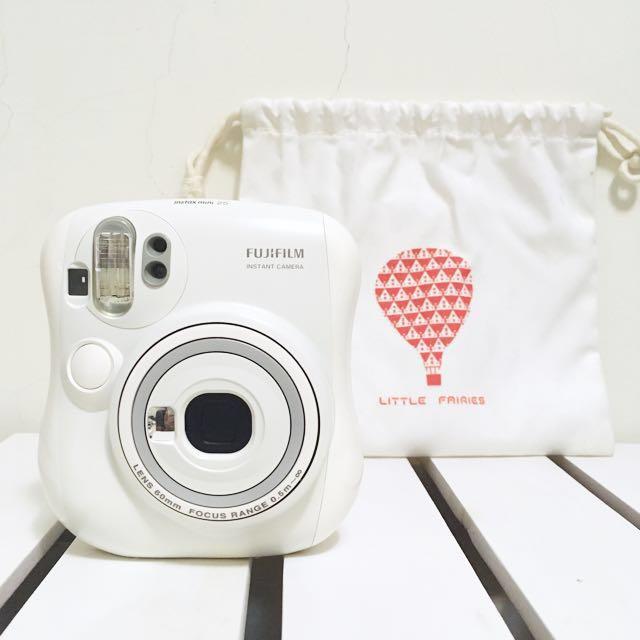 Fujifilm 富士 拍立得 mini 25  純白色 近全新