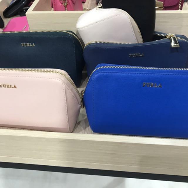 【Furla outlet代購】正品 Furla化妝包 包中包