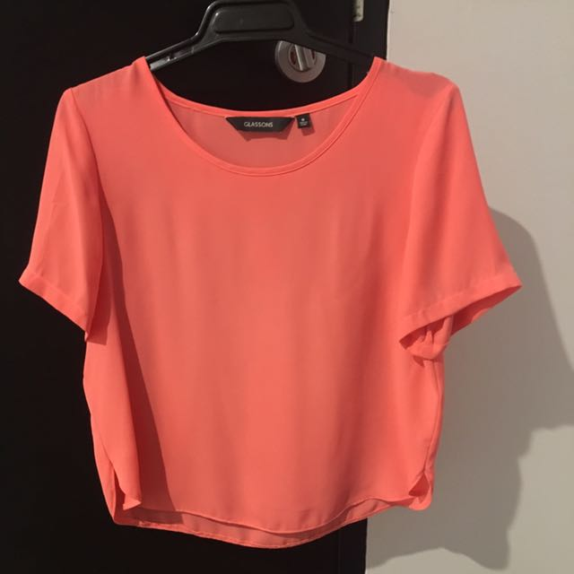 Glassons Peach Top - Size 10