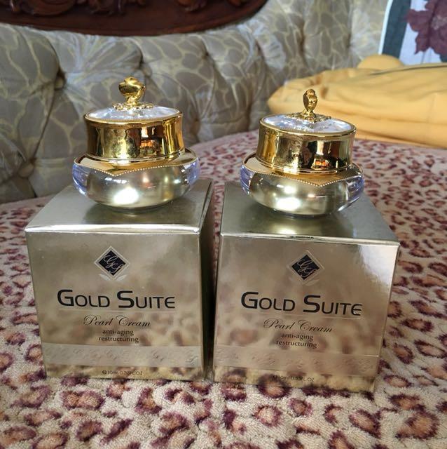 GoLD Suite全效潤肌亮白珍珠膏*2瓶