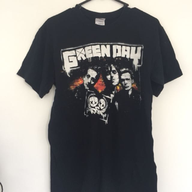 Green day tour shirt