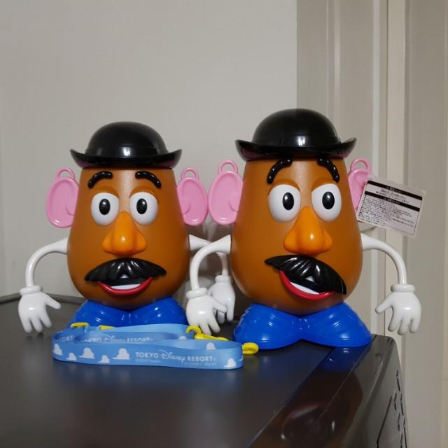 Hasbro Mr. Potato Head PopCorn Holder from Tokyo Disney Resort