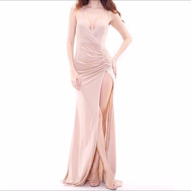 High-slit Dress