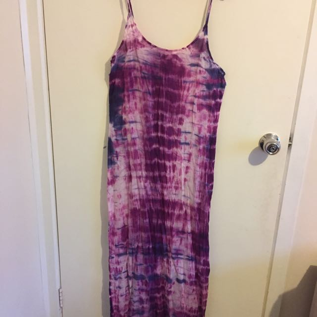 Hippy style maxi dress
