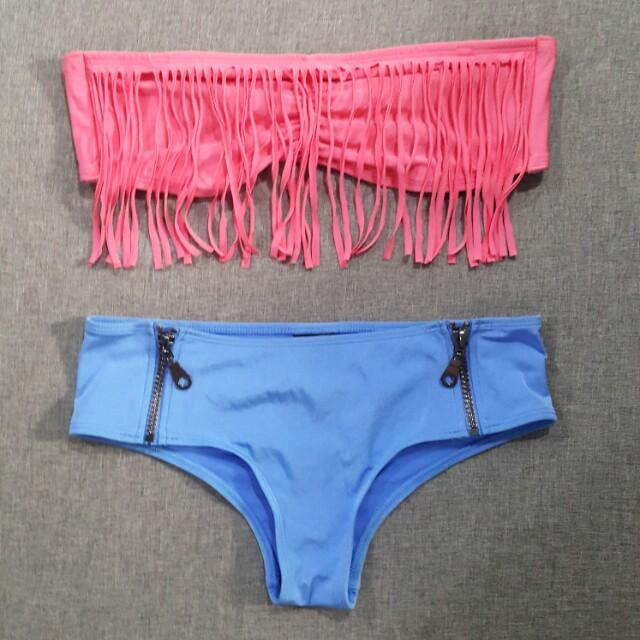 H&M bandeau 2-piece bikini set