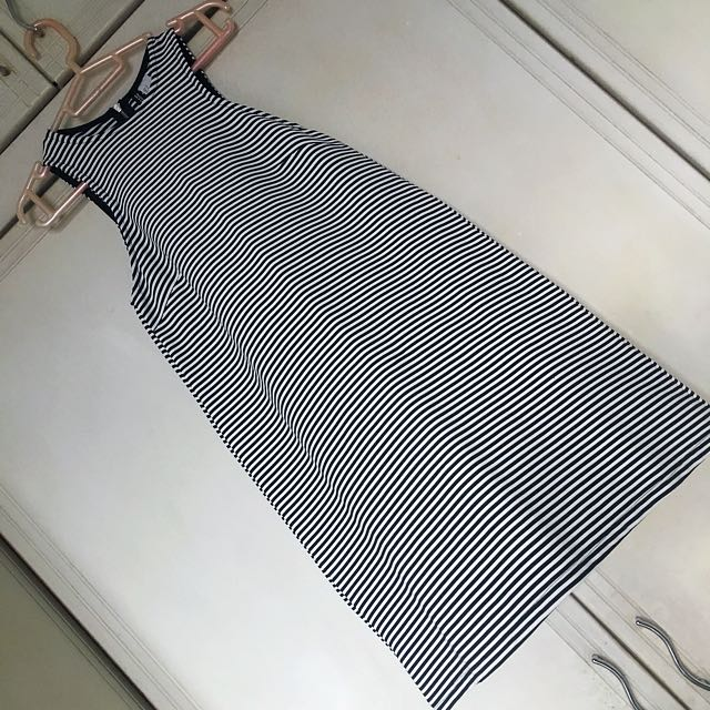 H&M Stripes Aline Dress