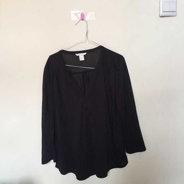 HNM Black Blouse