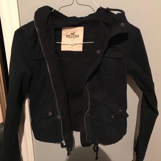 Hollister spring jacket