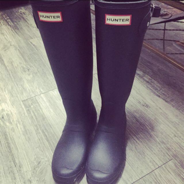 日本帶回Hunter長靴 雨靴
