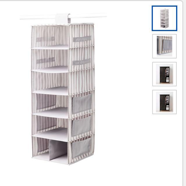 IKEA svira系列 衣物收納 掛袋