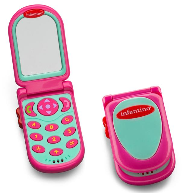 Infantino Flip and Peek Fun Phone