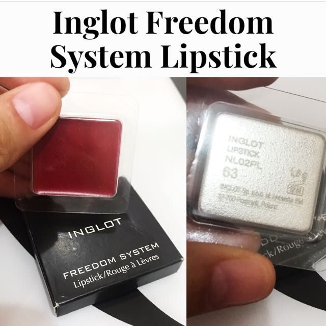Inglot Freedom Lipstick in Rouge