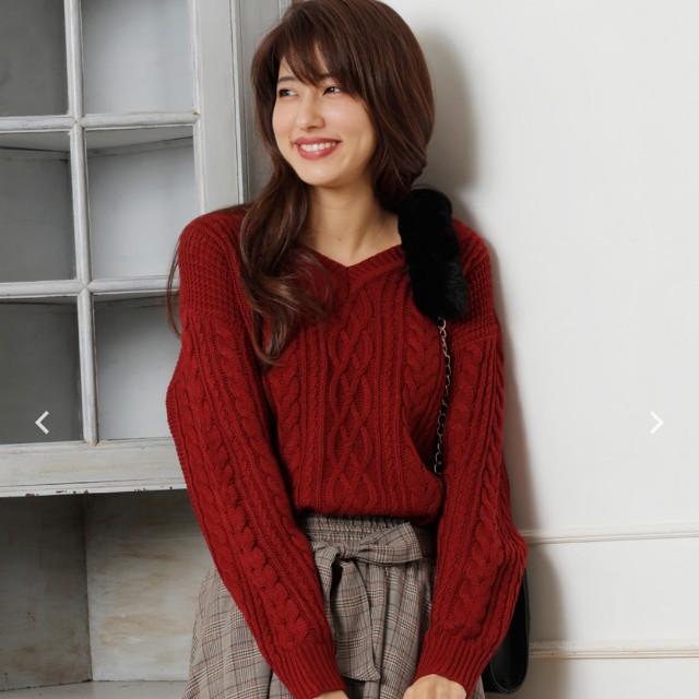 INGNI日本雜誌款 針織毛衣兩色全新