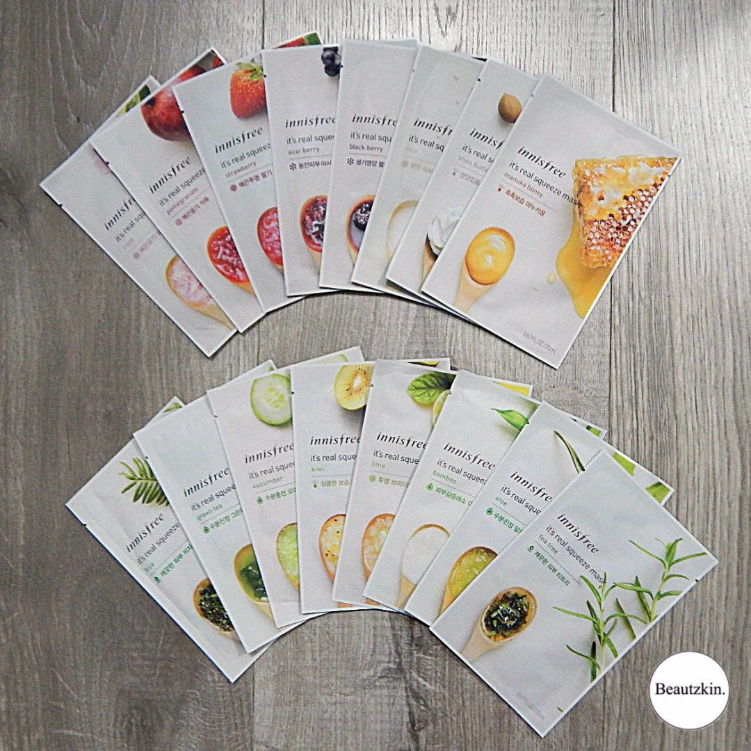 Innisfree Face Masks 'It's Real Squeeze Face Mask'