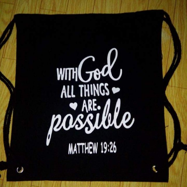 Inspirational String Bags